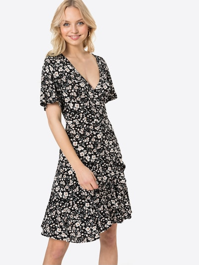 ESPRIT Kleid in grau / mint / schwarz / weiß, Modelansicht