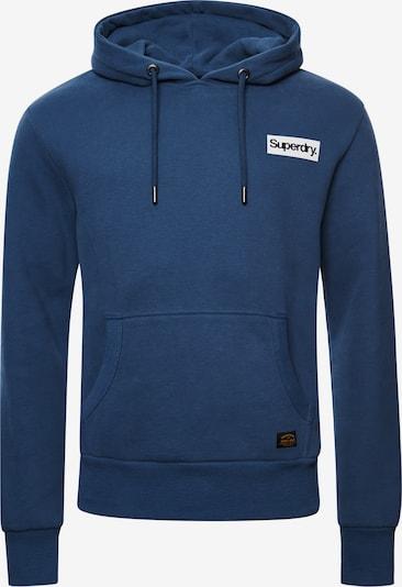 Superdry Sweatshirt in de kleur Blauw: Vooraanzicht