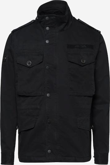 Superdry Feldjacke in schwarz, Produktansicht