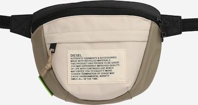 DIESEL Чанта за кръста 'LOKI' в маслина / оранжево / черно / бяло, Преглед на продукта