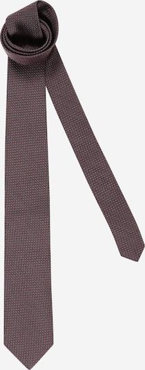 JOOP! Krawatte in dunkelgrau / pastellrot / schwarz, Produktansicht