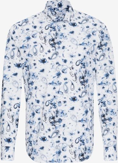 Jacques Britt Hemd ' Perfect Fit ' in blau / weiß, Produktansicht