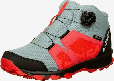 ADIDAS PERFORMANCE Outdoorschuh 'Terrex Boa' in grau / rot / schwarz, Produktansicht