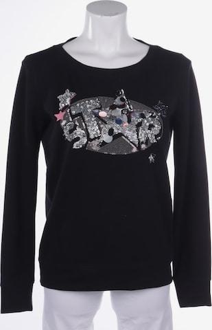 MAX&Co. Sweatshirt & Zip-Up Hoodie in S in Black