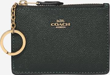 COACH Rahakott, värv roheline