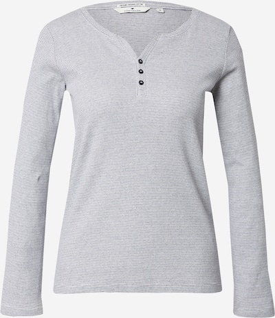 TOM TAILOR Shirt in de kleur Donkerblauw / Wit, Productweergave