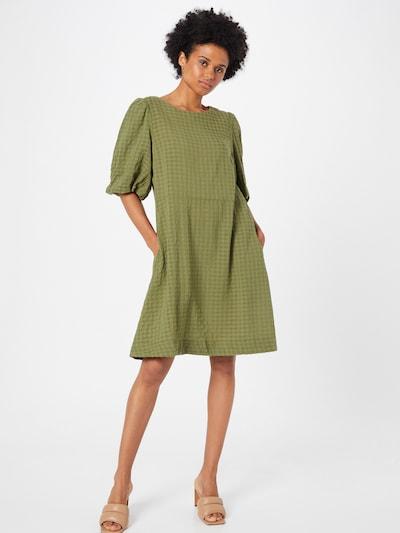 Rochie 'Hirli' SAINT TROPEZ pe verde / verde închis, Vizualizare model