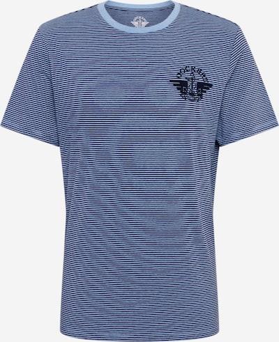 Dockers T-Shirt in blau / opal: Frontalansicht