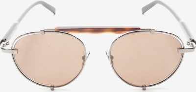 Salvatore Ferragamo Sonnenbrille in One Size in braun / silber, Produktansicht