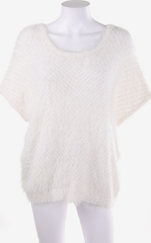 Orsay Batwing-Pullover in M in Weiß
