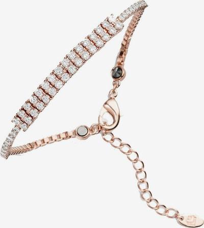 Lunavit Armband Magnetarmband Lady Line Twin, Rosé in pink, Produktansicht