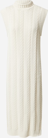 Esmé Studios Kootud kleit 'Ronja', värv valge