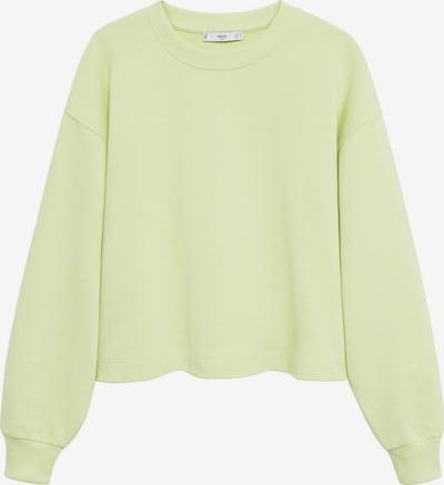 MANGO Sweatshirt 'PARIS 2' in gelb, Produktansicht
