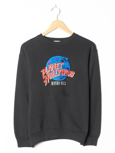 Planet Hollywood Sweatshirt in S-M in schwarz, Produktansicht