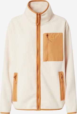 BILLABONG Fleece Jacket in White