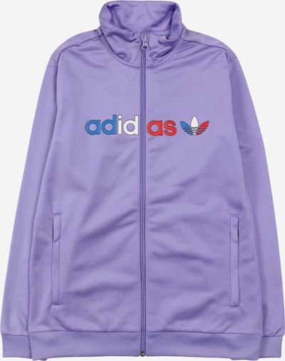 ADIDAS ORIGINALS Prechodná bunda - modrá / orgovánová / červená / biela, Produkt