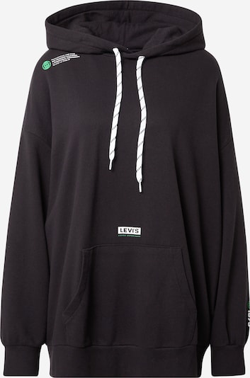 LEVI'S Sweatshirt in Lime / Black / White, Item view