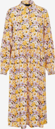 Rochie tip bluză PIECES pe galben / verde închis / lila / alb, Vizualizare produs