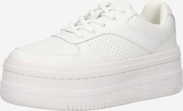 Sneaker low de la NA-KD pe alb