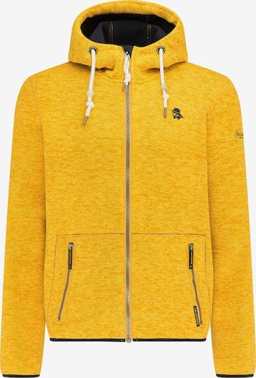 Schmuddelwedda Veste outdoor en jaune / noir / blanc, Vue avec produit