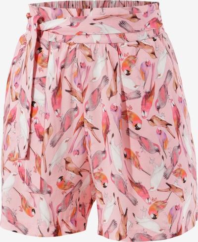 Aniston CASUAL Hose in braun / rosé / rot / weiß, Produktansicht