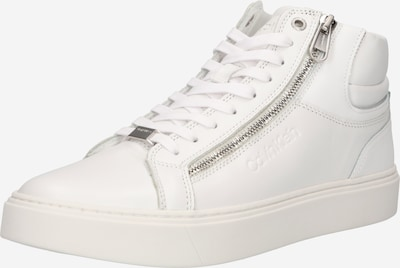 Calvin Klein Baskets hautes en blanc, Vue avec produit