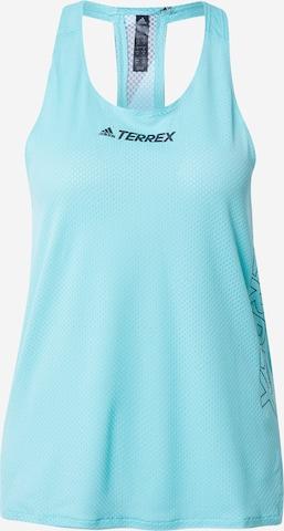 adidas Terrex Sporttop in Blau