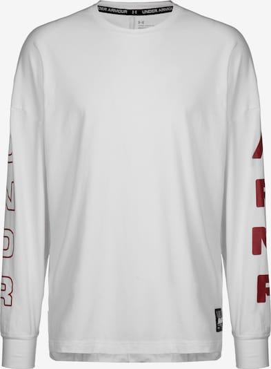 UNDER ARMOUR Sweatshirt 'Moments' in weiß, Produktansicht
