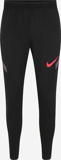 NIKE Spodnie sportowe 'Strike' w kolorze szary / czerwony / czarnym, Podgląd produktu