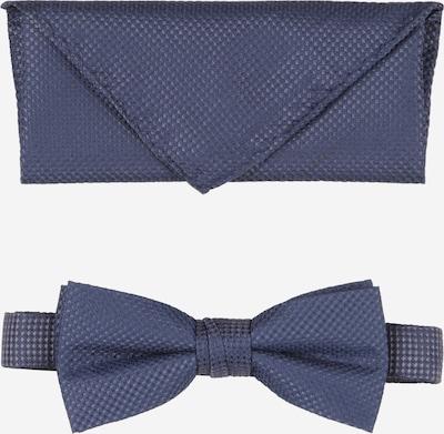 Jack & Jones Junior Fliege und Taschentuch in dunkelblau, Produktansicht