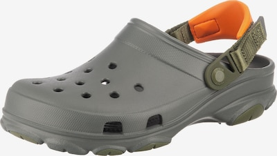 Crocs Clogs 'All Terrain' in dunkelgrau / orange, Produktansicht