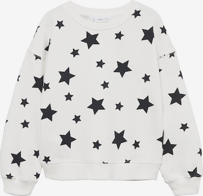 MANGO KIDS Sweatshirt 'NONNA' en schwarz / offwhite, Vue avec produit