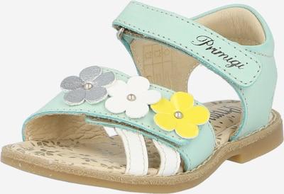 PRIMIGI Sandalen in de kleur Lichtblauw / Geel / Grijs / Wit, Productweergave