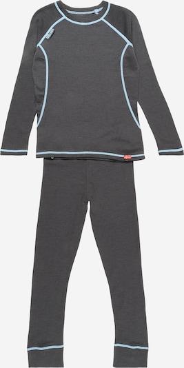 TROLLKIDS Sportunterwäsche in hellblau / anthrazit, Produktansicht