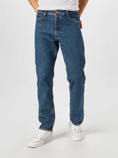 JACK & JONES Kavbojke 'JJICHRIS' | modra barva, Prikaz modela