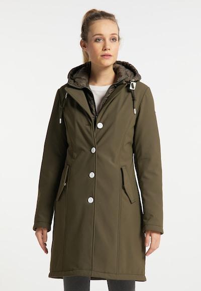 ICEBOUND Abrigo de invierno en oliva, Vista del modelo