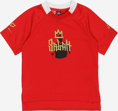 ADIDAS PERFORMANCE T-Shirt in gold / rot / schwarz, Produktansicht