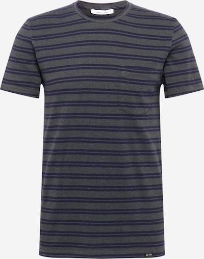 Samsoe Samsoe Shirt 'Carpo' in graumeliert / violettblau, Produktansicht