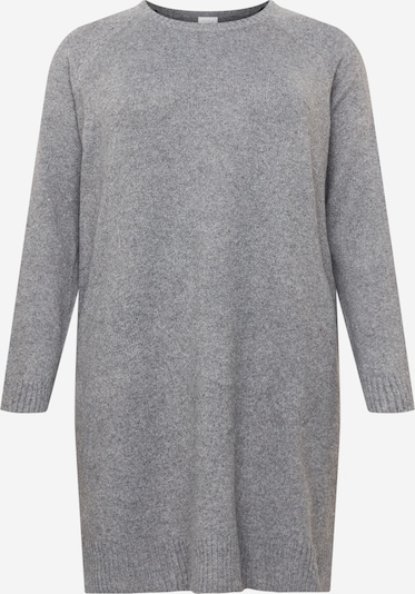 Vila Curve Kleid 'HAILEY' in grau, Produktansicht