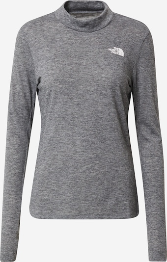 THE NORTH FACE Shirt 'Active Trail Wool' in de kleur Grijs gemêleerd, Productweergave