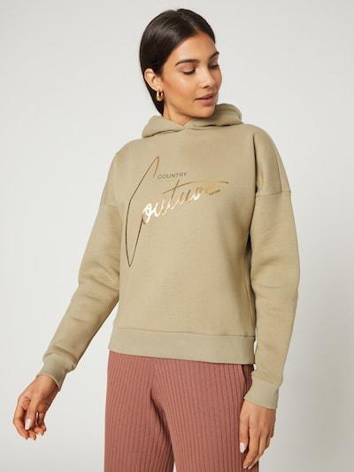 Guido Maria Kretschmer Collection Sweatshirt 'Nola' in grün: Frontalansicht