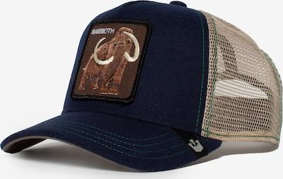 GOORIN Bros. Pet 'Yes Mammoth' in de kleur Navy / Bruin / Cappuccino / Lichtbruin, Productweergave