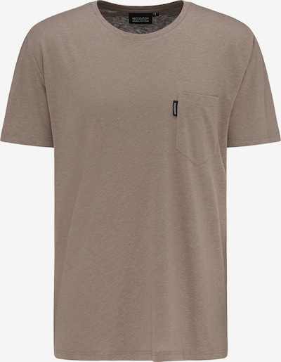 recolution T-Shirt Hemp T-Shirt 'POCKET' in braun, Produktansicht