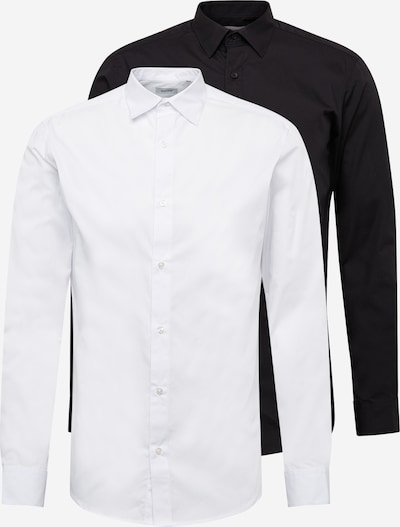 JACK & JONES Košeľa 'JOE' - čierna / biela, Produkt