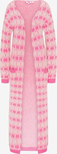 MYMO Pletený kabátek - pink / barva bílé vlny, Produkt
