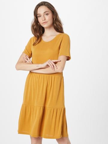 VERO MODA Dress in Yellow