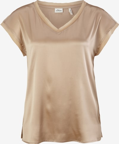 s.Oliver BLACK LABEL Shirt in de kleur Lichtbeige, Productweergave
