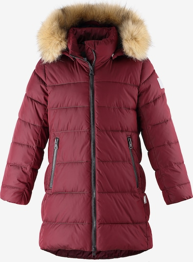 Reima Wintermantel in rot, Produktansicht