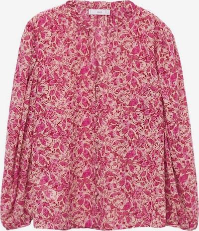 MANGO Bluse 'Riviera' in pink / rosa, Produktansicht