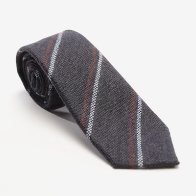 Van Laack Krawatte in One Size in dunkelblau / braun, Produktansicht